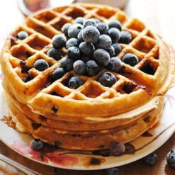 Flavour West Blueberry Graham Waffle