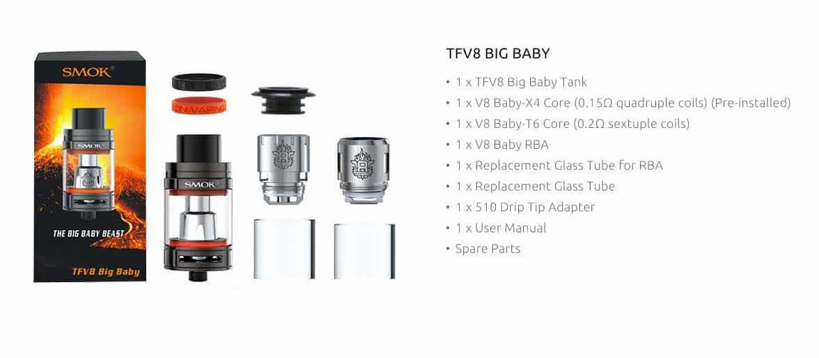 Smok TFV8 Big Baby Beast Tank