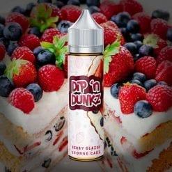 Flawless - Union of Vapers - Dip 'n Dunkz - Berry Glazed Sponge Cake
