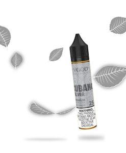 VGOD Saltnic Cubano Silver