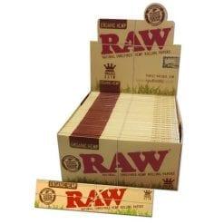 RAW   Organic Hemp   Rolling Papers   King Size Slim   Vaperite
