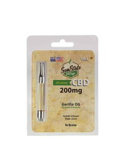 200MG Watermelon Taffy 1ml CBD Cartridge by Sunstate Hemp for sale at Vaperite outlets nationwide and available online. Get your CBD vape e-liquid today