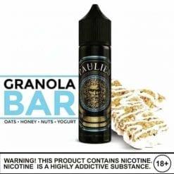 Paulies | Granola Bar | 60ml Vape E-Liquid | Vaperite