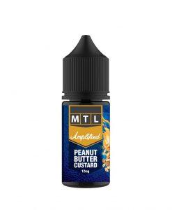 Amplified | Peanut Butter Custard | Vaperite.co.za | 30ml | 12mg MTL