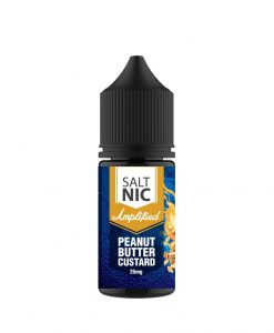 Amplified Peanut Butter Custard saltnic | Vaperite.co.za | 30ml | 25mg Saltnic