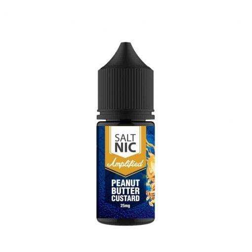 Amplified Peanut Butter Custard saltnic   Vaperite.co.za   30ml   25mg Saltnic