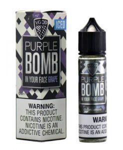 VGOD iced Purple Bomb | VGOD | 60ML Vape E-Liquid | Vaperite.co.za