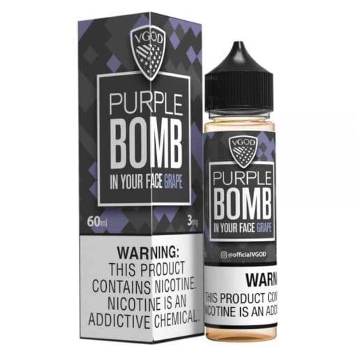 VGOD Purple Bomb | VGOD | 60ML Vape E-Liquid | Vaperite.co.za