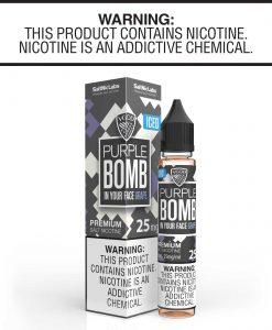 VGOD Saltnic iced Purple Bomb | 25mg & 50mg Saltnic | Vaperite