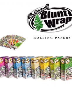 Double Platinum | Tobacco Blunt Wraps | 2 Pack | Canna-Rite | Vaperite