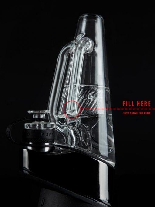 Puffco Peak Recycler Glass | THC extract Vaporizer | Vaperite | Dab Rig